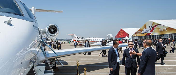 ABACE2017 Static Display to Feature Variety of Business Aircraft